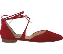 Rote Paul Green Ballerinas 3399
