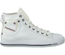 Weiße Diesel Sneaker MAGNETE EXPOSURE
