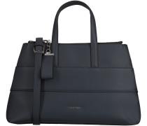 Blaue Calvin Klein Handtasche LUC7 MEDIUM TOTE