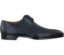 Blaue Magnanni Business Schuhe 18738
