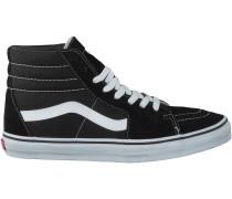 Schwarze Vans Sneaker SK8-HI HEREN