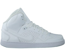 Weiße Nike Sneaker SON OF FORCE MID