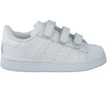 Weisse Adidas Sneaker SUPERSTAR FOUNDATION