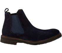 Blaue Greve Chelsea Boots 1405