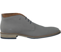 Graue Greve Business Schuhe MS3049