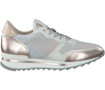 Beige Maripé Sneaker 22115