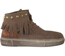 Beige Karma of Charme Boots ULURU ETHNIC