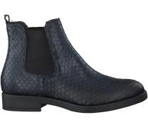 Blaue Omoda Chelsea Boots 280-001MS
