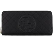 Schwarze Guess Portemonnaie SWVQ61