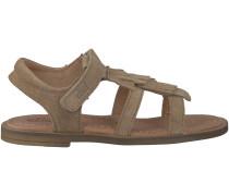 Beige Clic! Sandalen 8908