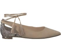 Beige Guess Ballerinas FLSEV1 ESU02