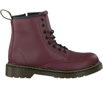 Rote Dr. Martens Ankle Boots DELANEY/BROOKLY
