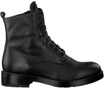 Schwarze Tosca Blu Shoes Schnürboots SF1710S199