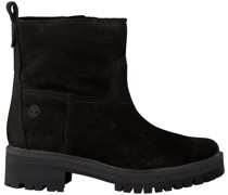 Timberland Ankle Boots Courmayeur Valley Faux Fur Schwarz Damen