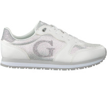 Weiße Guess Sneaker FLJHN1 FAB122