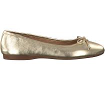 Goldene Omoda Ballerinas 1120200