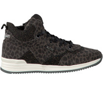 Graue Vingino Sneaker ELORA MID