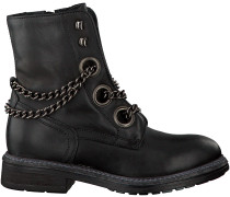 Schwarze Omoda Biker Boots P15073