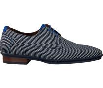 Floris Van Bommel Business Schuhe 18441 Blau Herren