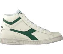 Diadora Heritage Sneaker High Game L High Waxed Weiß Herren
