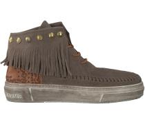 Taupe Karma of Charme Boots ULURU ETHNIC