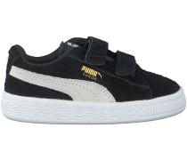 Schwarze Puma Sneaker SUEDE 2 STRAPS