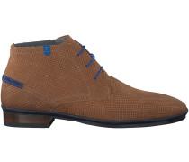 Cognac Floris van Bommel Business Schuhe 10754