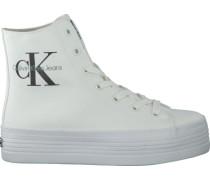 Weiße Calvin Klein Sneaker ZABRINA CANVAS