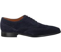 Blaue Van Lier Business Schuhe 6008