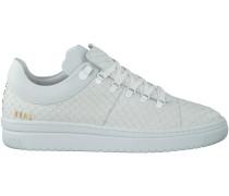 Weiße Nubikk Sneaker YEYE PYTHON