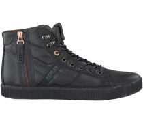 Schwarze Replay Sneaker COMPAT