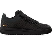 Schwarze Nubikk Sneaker YEYE PYTHON