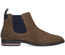 Chelsea Boots Signature Hilfiger Taupe Herren