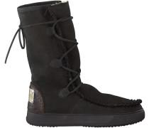 Schwarze Karma of Charme Boots YMIZ H LACCI