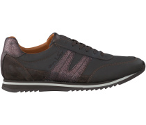 Braune Van Lier Sneaker 7254
