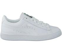 Weisse Puma Sneaker BASKET CLASSIC L BTS