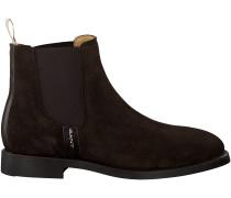 Braune Gant Chelsea Boots JENNIFER