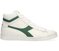 Heritage Sneaker High Game L High Waxed Weiß Herren