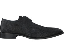 Schwarze Omoda Business Schuhe 6812