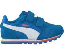 Blaue Puma Sneaker ST RUNNER V KIDS