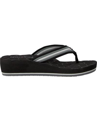 Schwarze Pantolette Comfort MID Beach Sandal