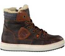 Braune Vingino Sneaker SIL MID FUR