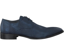Blaue Omoda Business Schuhe 6812