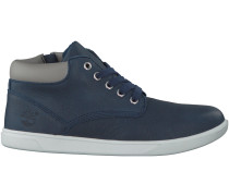 Blaue Timberland Boots GROVETON LEATHER