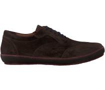 Braune Floris van Bommel Sneaker 19036