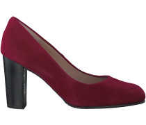 Rote Omoda Pumps T1933
