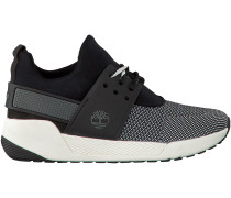 Schwarze Timberland Sneaker KIRI UP KNIT OXFORD