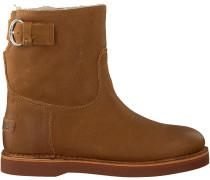 Cognac Shabbies Ankle Boots 181020054
