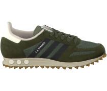 Grüne Adidas Sneaker LA TRAINER OG HERREN