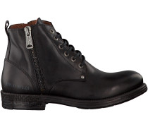 Schwarze Replay Ankle Boots METIC